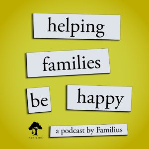Title Image for Helping Families be Happy Podcast